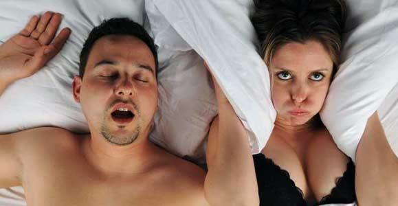От чего сильный храп во сне