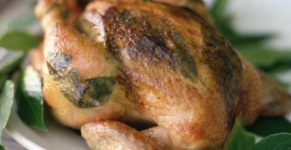 Вторые блюда на сковороде из курицы