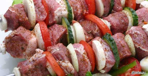Мясо для шашлыка свинина