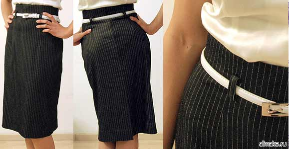 Как из брюк сшить летнюю юбку