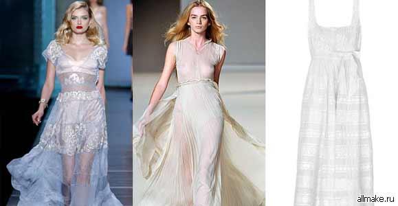 Как сшить платье: летнее, вечернее платье, выкройки