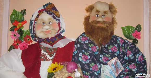 Изготовление кукол из колготок мастер класс