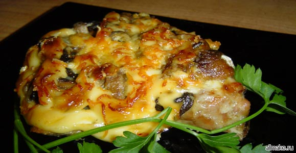 происхождения блюда мясо по французски:
