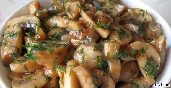 Какое блюдо можно приготовить из грибов