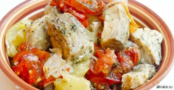 Как приготовить рыбу в соусе сливочном соусе