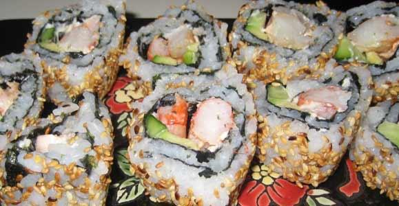 Мастер класс суши роллы видео