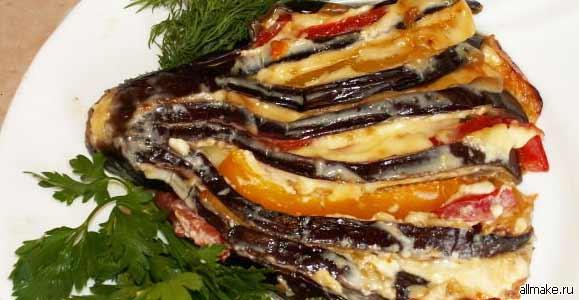 Баклажаны - рецепты блюда из баклажанов - рецепты с