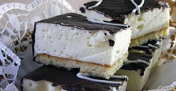 Как приготовить птичье молоко, рецепт (торт, суфле)