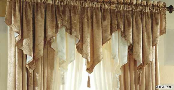 Как сшить шторы (Выкройки: римские, с