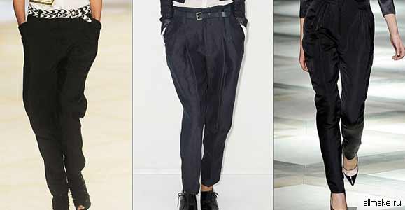 Выкройка мужские брюки своими руками