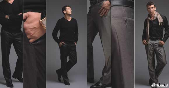 Как сшить брюки (женские, мужские, выкройка)