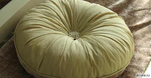 Сшить декоративные подушки