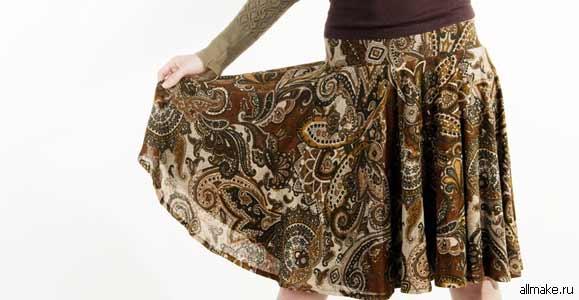 Как сшить юбку: юбку-солнце, американку, выкройки